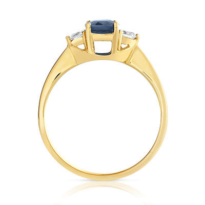 bague or 750 diamant prix
