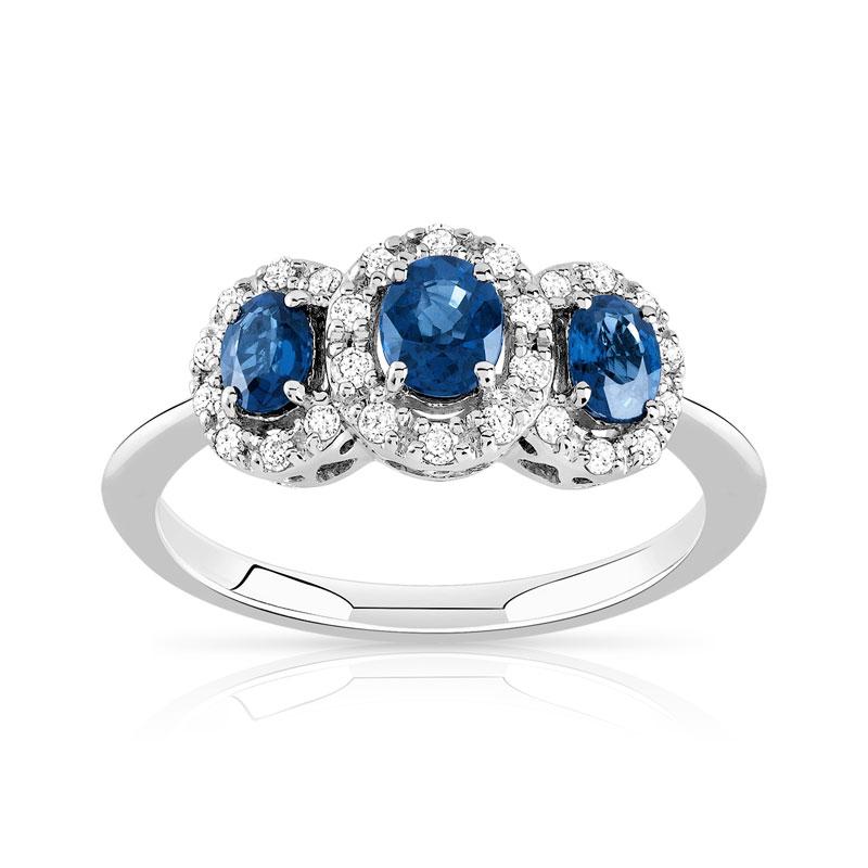 maty bague diamant saphir