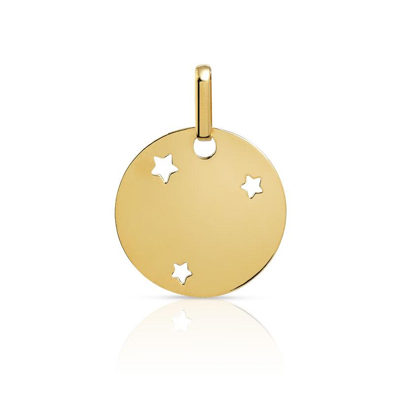 Favori Medaille or bapteme, pendentif ange or, pendentif or enfant WE77