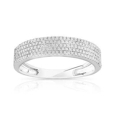 maty bague or diamant