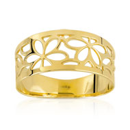 Bague or 375 jaune