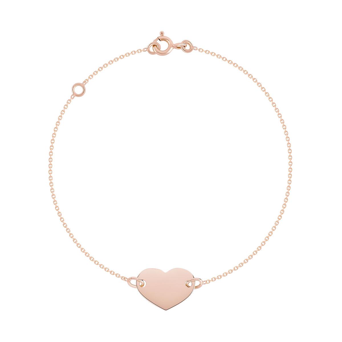 bracelet femme or rose