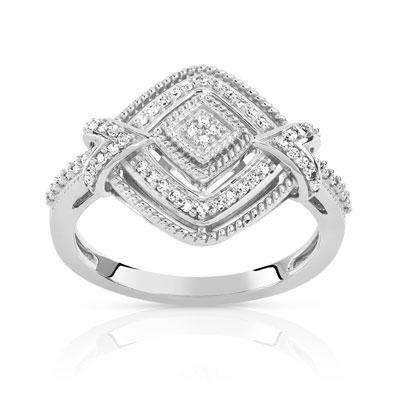 maty bague diamant or blanc