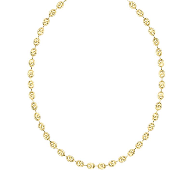 Collier or 375 jaune