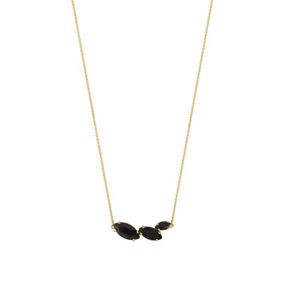 Collier or 375 jaune onyx - vue 1