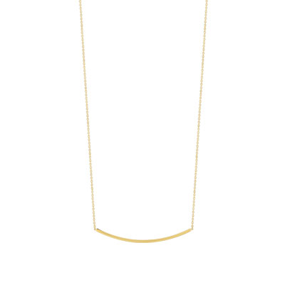 Collier or 375 jaune - vue 1