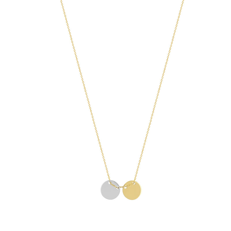 Collier 2 ors 375 - vue 1