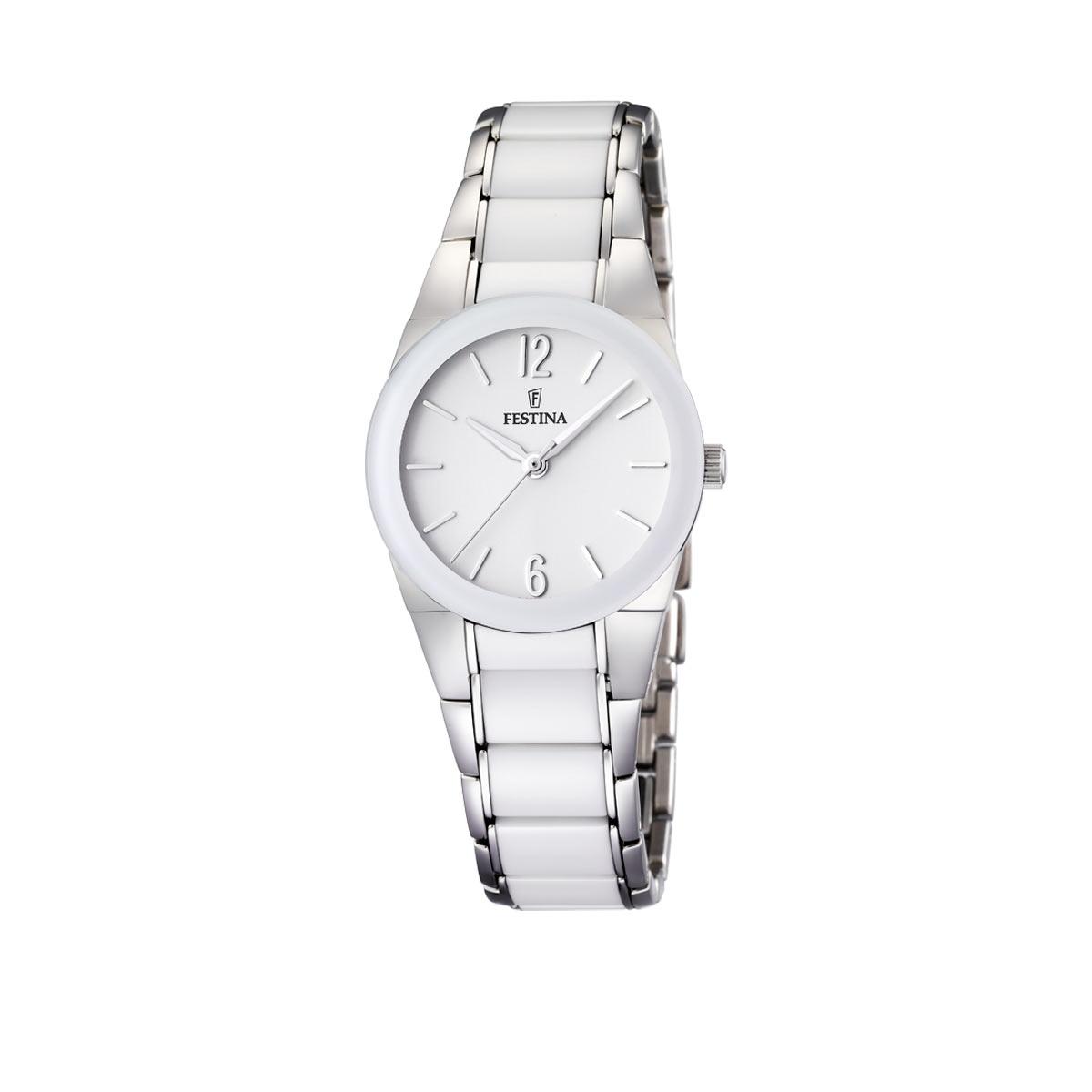 montre bracelet femme blanc
