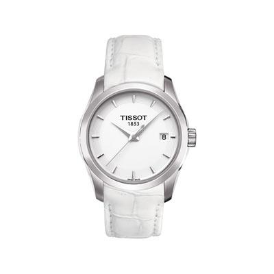 tissot bracelet blanc
