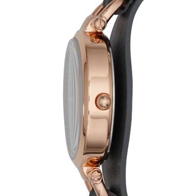 montre fossil femme acier dor rose bracelet cuir femme montre quartz maty. Black Bedroom Furniture Sets. Home Design Ideas