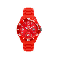 Montre Ice Watch femme silicone rouge