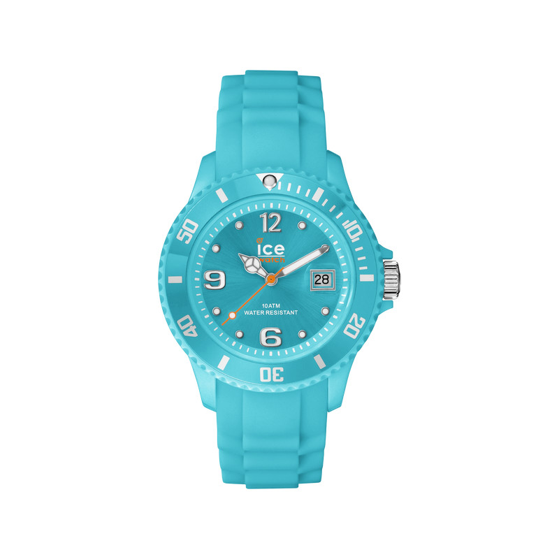 Montre Ice Watch femme silicone turquoise