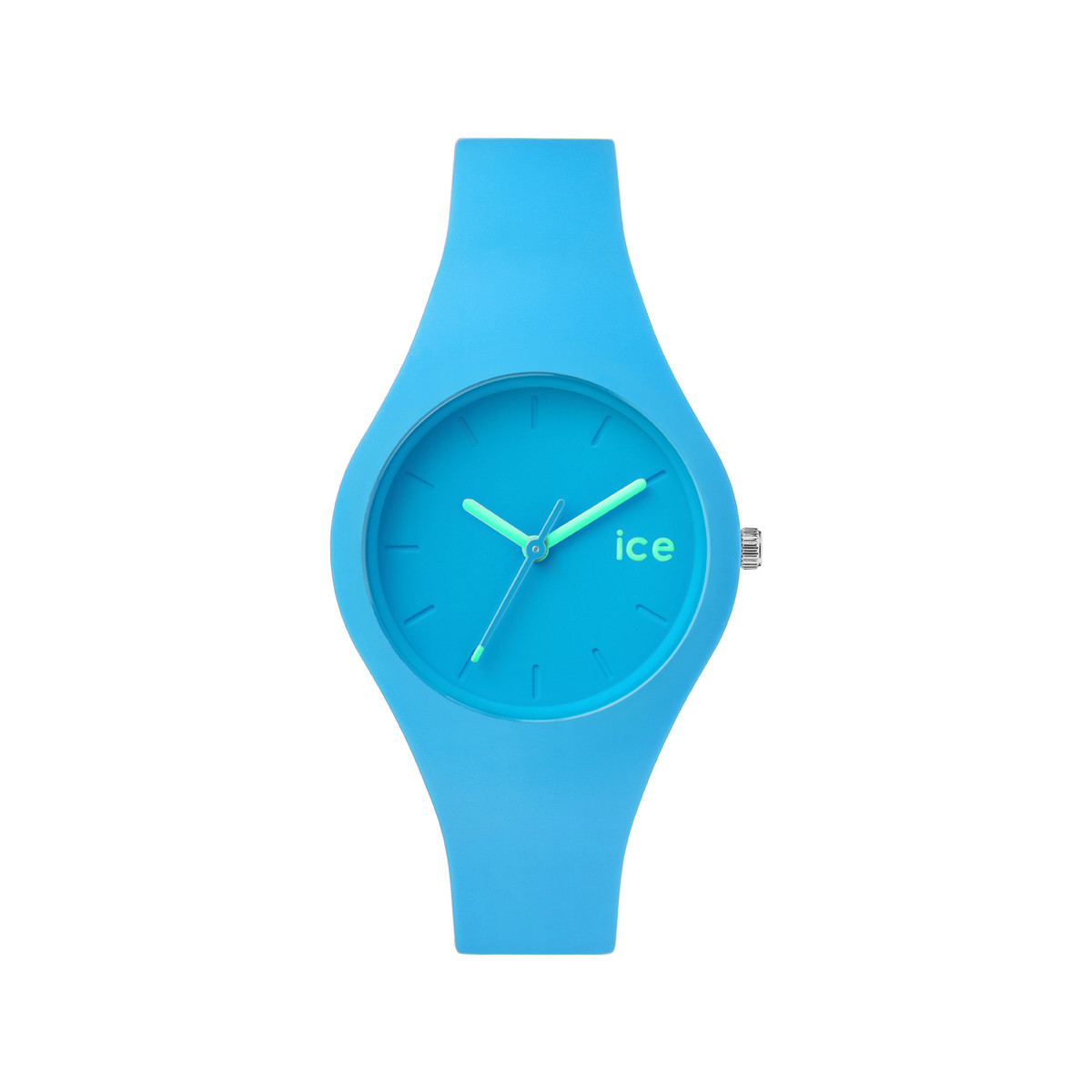 Montre Ice-Watch femme silicone bleu
