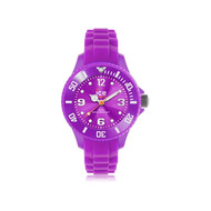 Montre Ice Watch femme silicone mauve