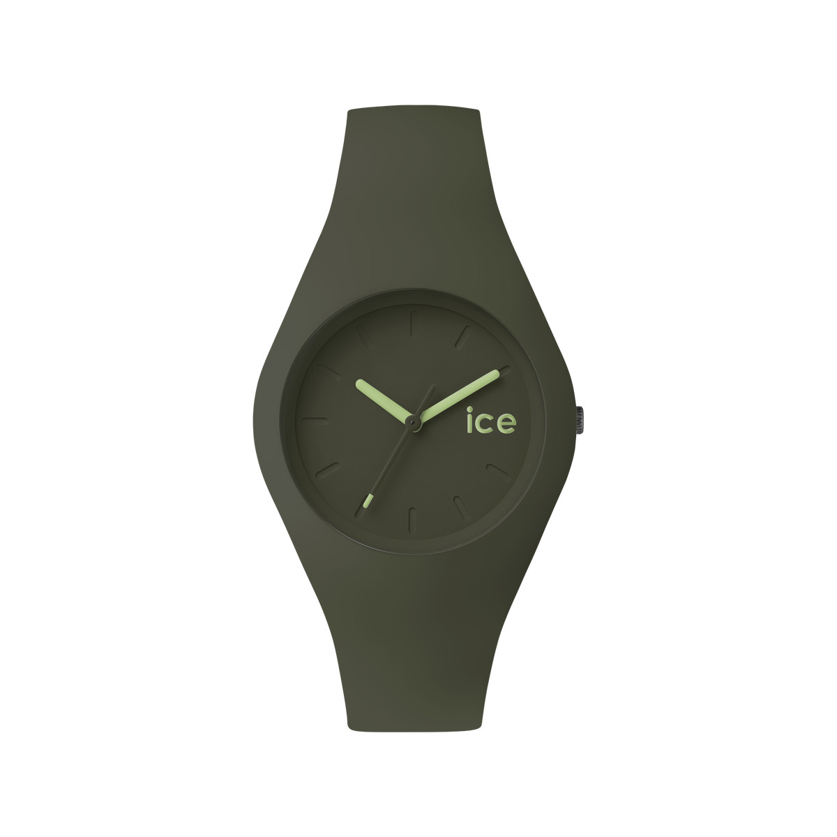 Montre Ice Watch mixte silicone vert