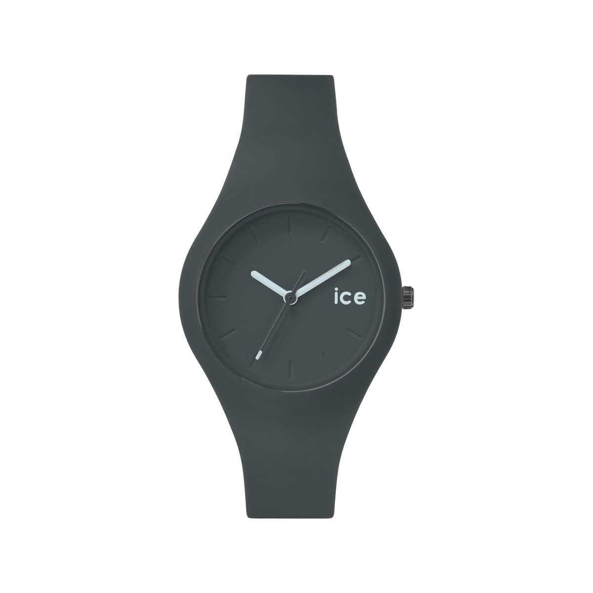Montre Ice Watch mixte silicone gris