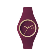 Montre Ice Watch femme silicone bordeaux