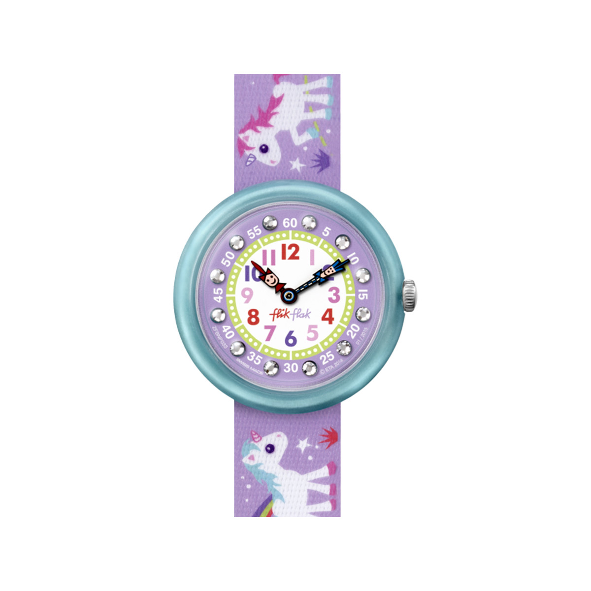 Montre Flik Flak fille Magical unicorn - vue 1