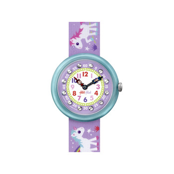 Montre Flik Flak fille Magical unicorn
