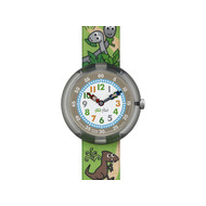 Montre Flik Flak mixte Sauruses Return