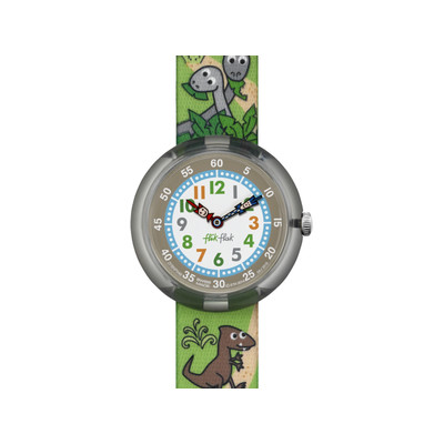 Montre Flik Flak mixte Sauruses Return - vue V1