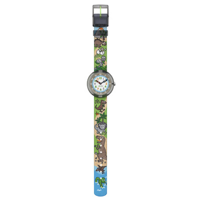 Montre Flik Flak mixte Sauruses Return - vue VD1