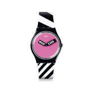 Montre Swatch femme When-ever plastique silicone
