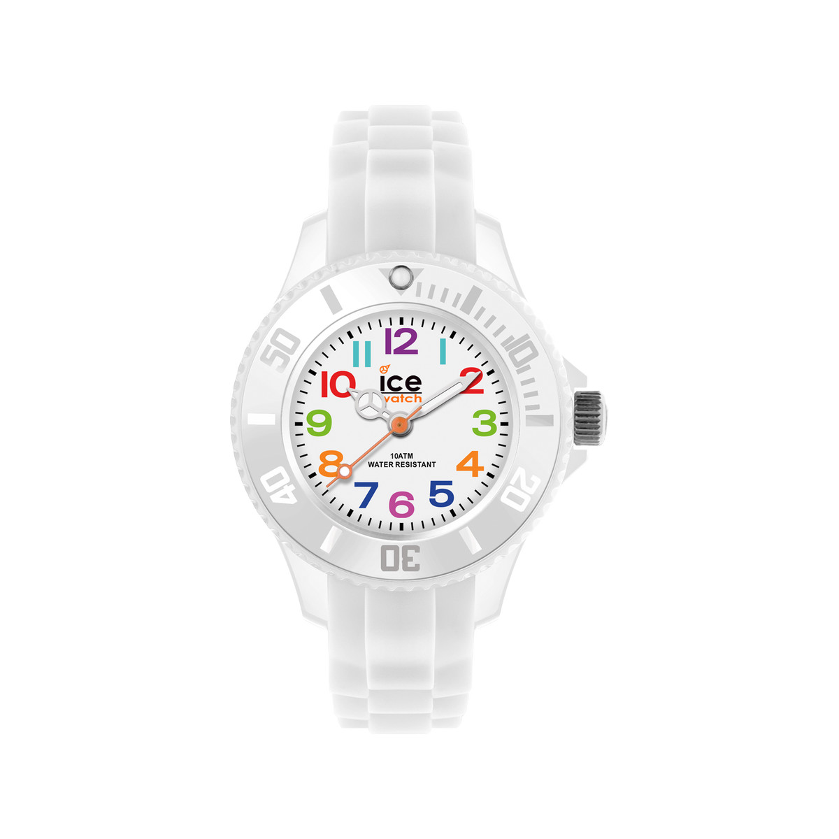 code promo a7677 15295 Montre Ice Watch mini enfant silicone blanc