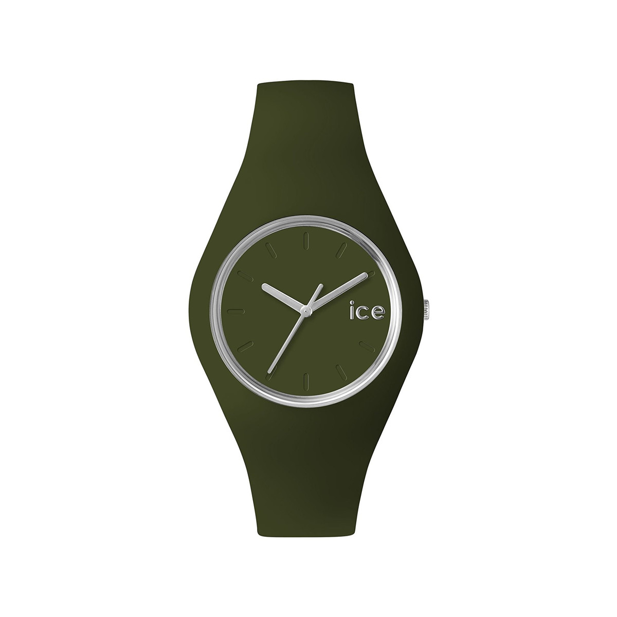 Montre Ice Watch mixte silicone vert kaki
