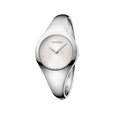 Montre Calvin Klein femme acier bracelet rigide , Femme , modèle K7G2M116