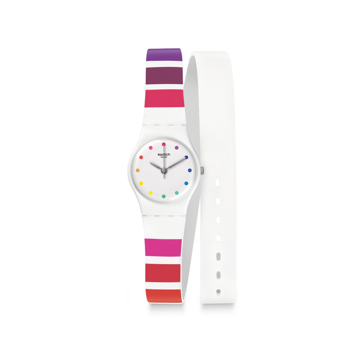 Montre Swatch Colorao femme double tour - vue V1