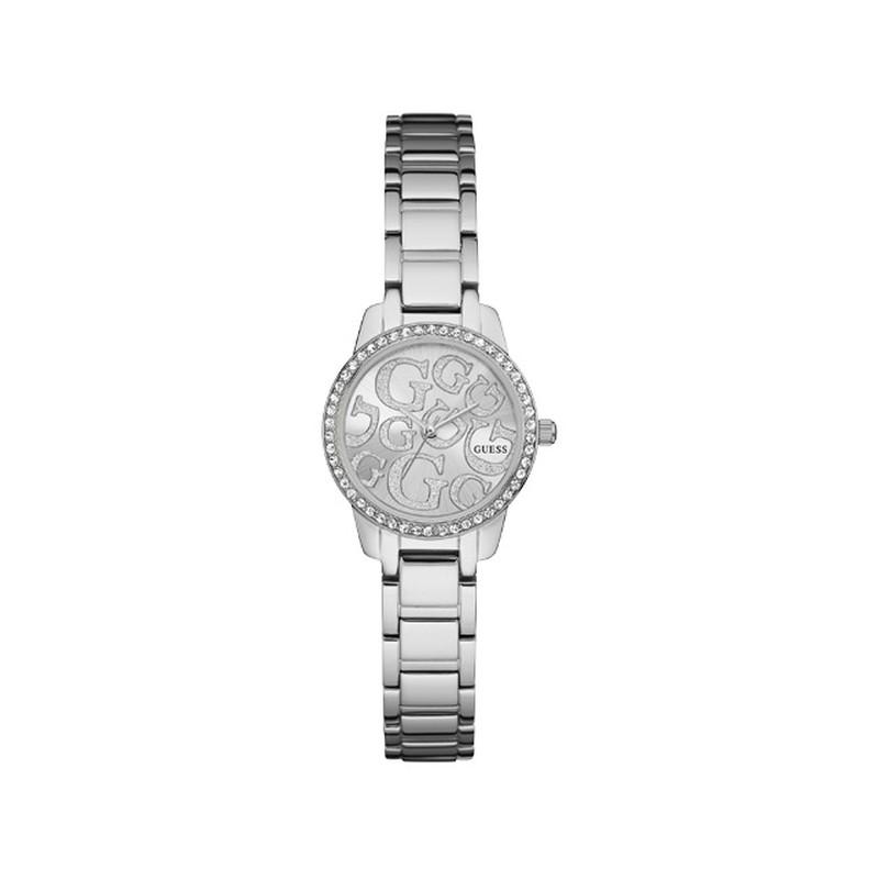 4f3f9574c4d5 Montre Guess femme acier cristaux - Femme - modèle W0891L1   MATY