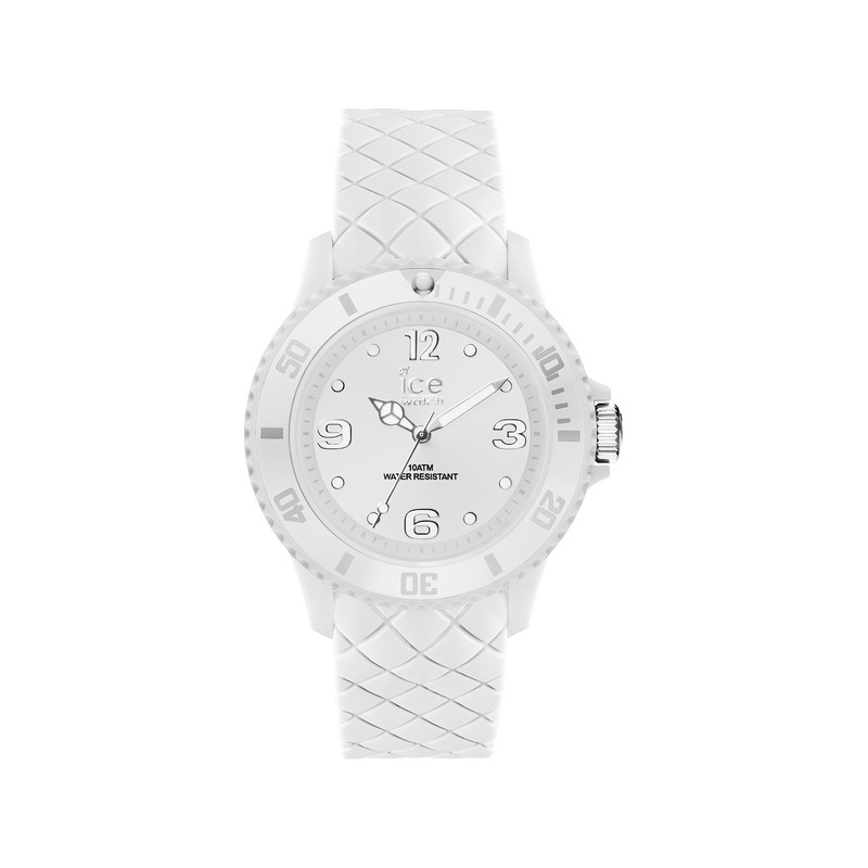 montre Ice Watch femme silicone blanc