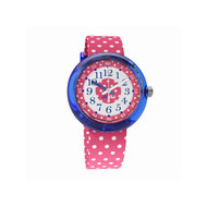 Montre Flik Flak fille trip to London pink