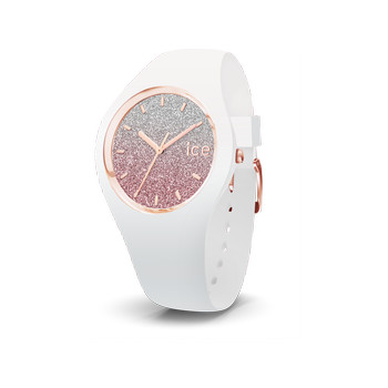 Montre Ice Watch femme silicone blanc small 34 mm