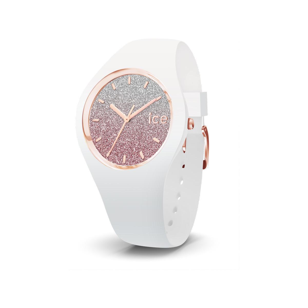 Montre Ice Watch Femme Silicone Blanc Femme Modele 013431 Maty