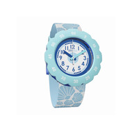 Montre Flik Flak mixte Soft Blue bleu