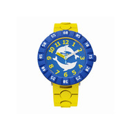 Montre Flik Flak mixte Dolph'in Yellow jaune