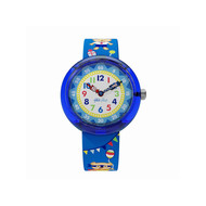 Montre Flik Flak garçon Cool Party bleu