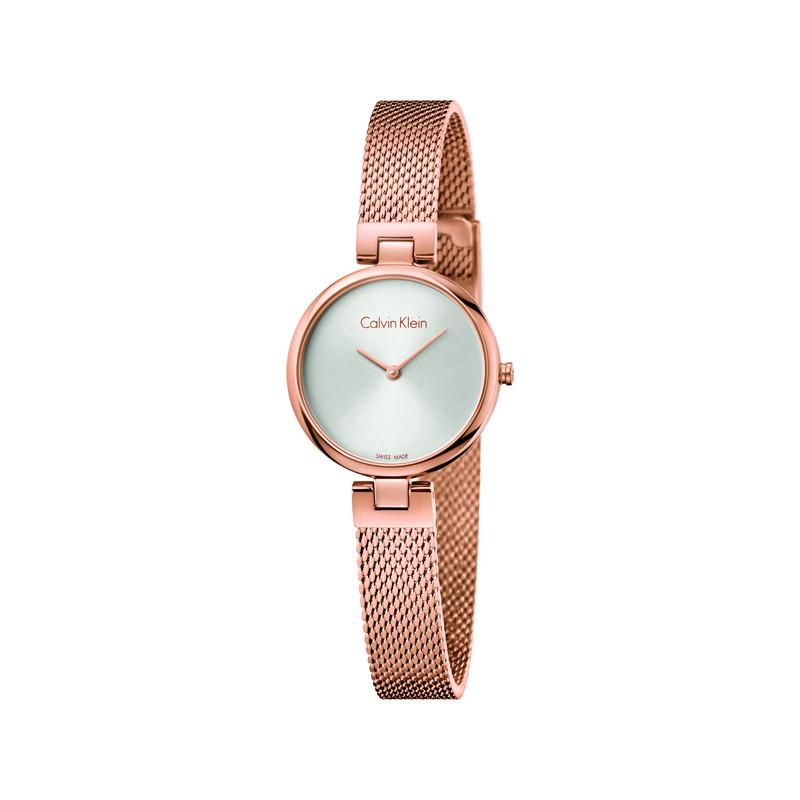 design de qualité 5e9b6 72225 Montre Calvin Klein femme acier rose
