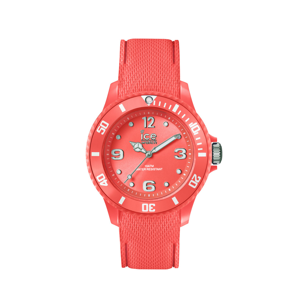 Montre Ice Watch femme silicone rouge - vue 1
