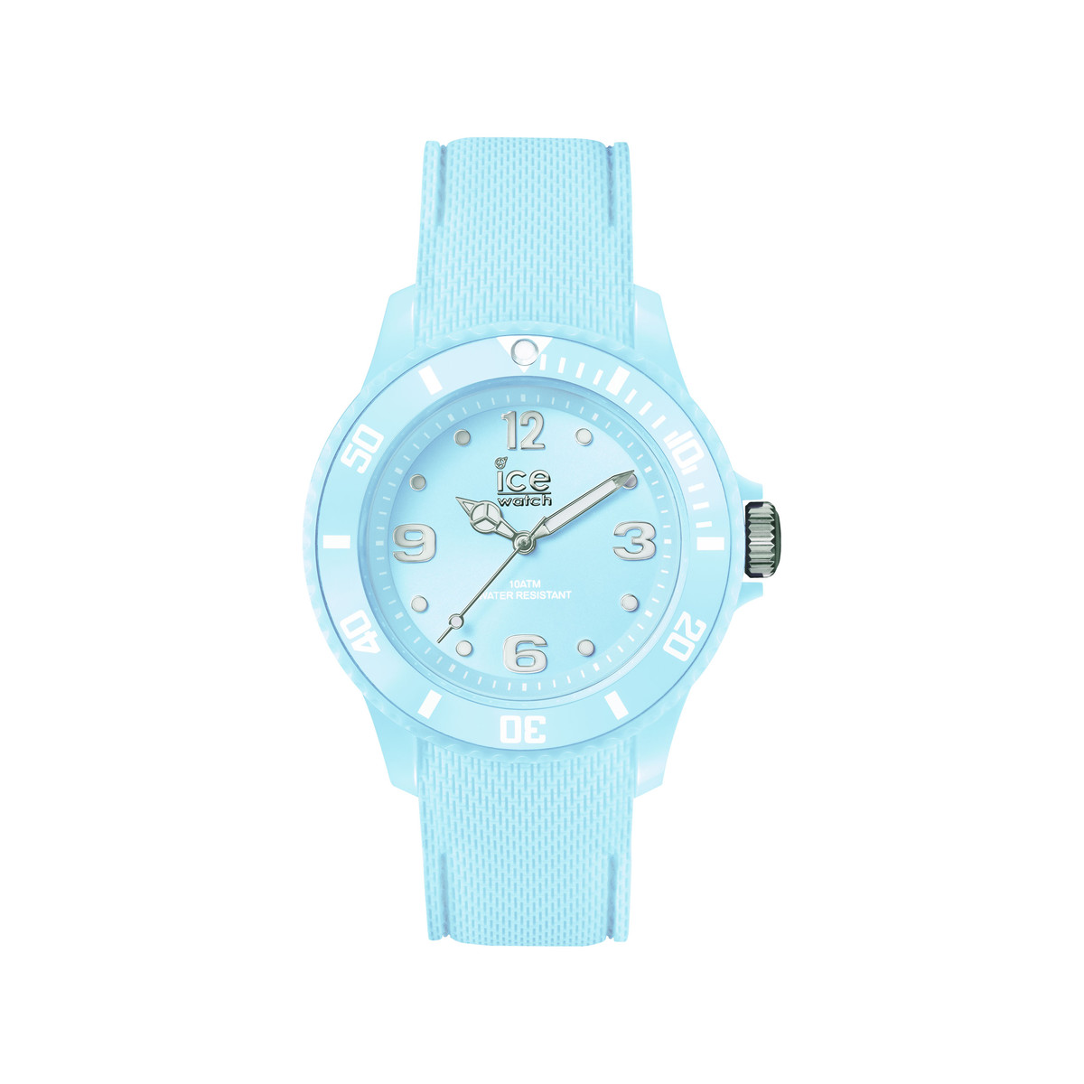 Montre Ice Watch femme silicone bleu pastel