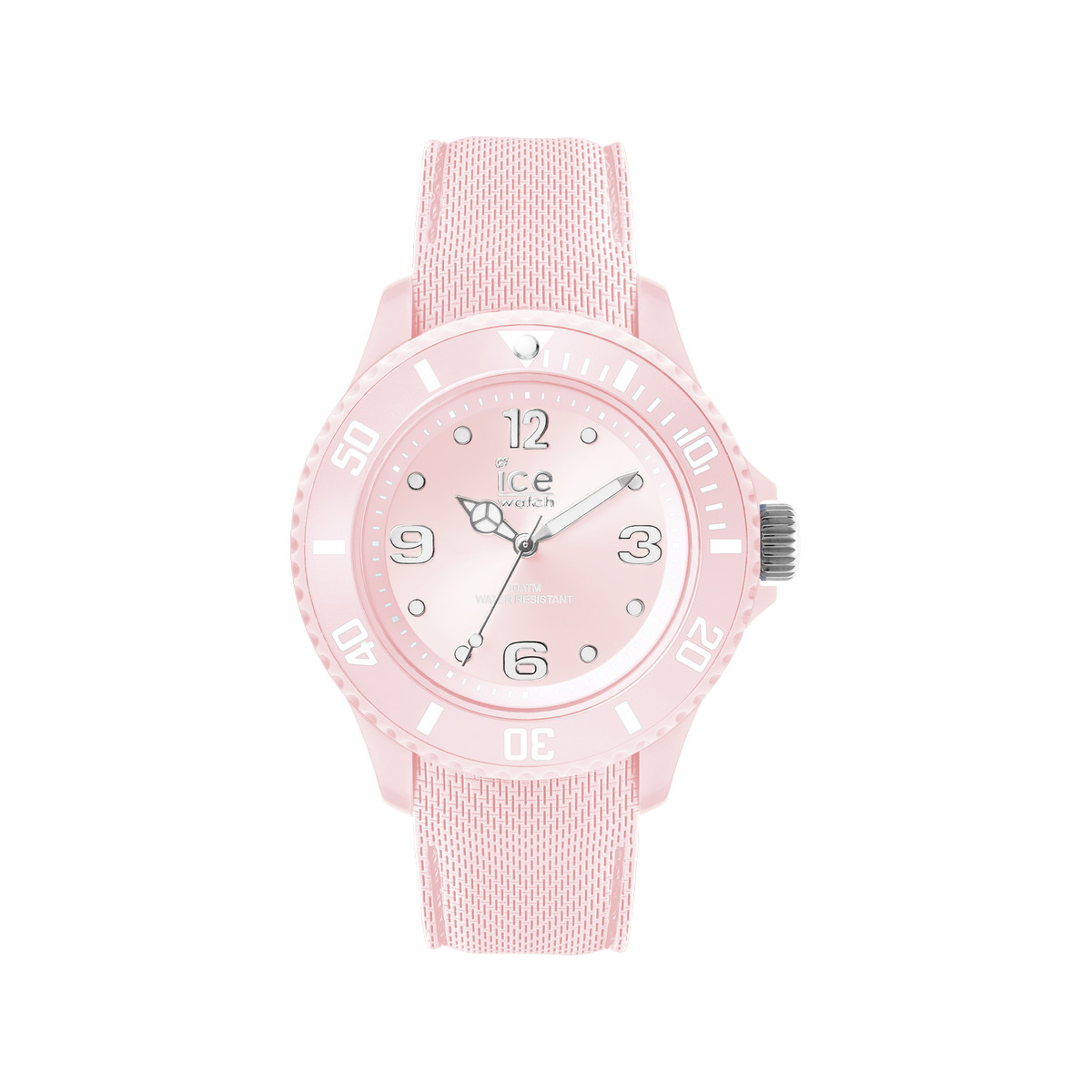 Montre Ice Watch femme silicone rose pastel