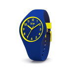 Montre Ice Watch femme enfant silicone bleu