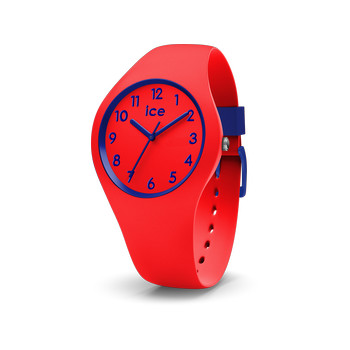 Montre Ice Watch femme enfant silicone rouge