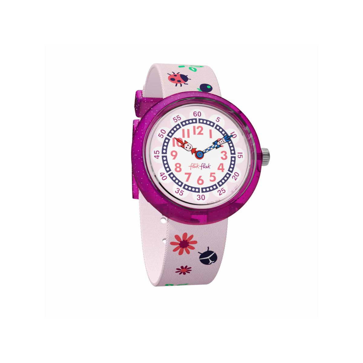Montre Flik flak fille Autumn Colors rose
