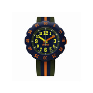 Montre Flik Flak mixte Orange Line