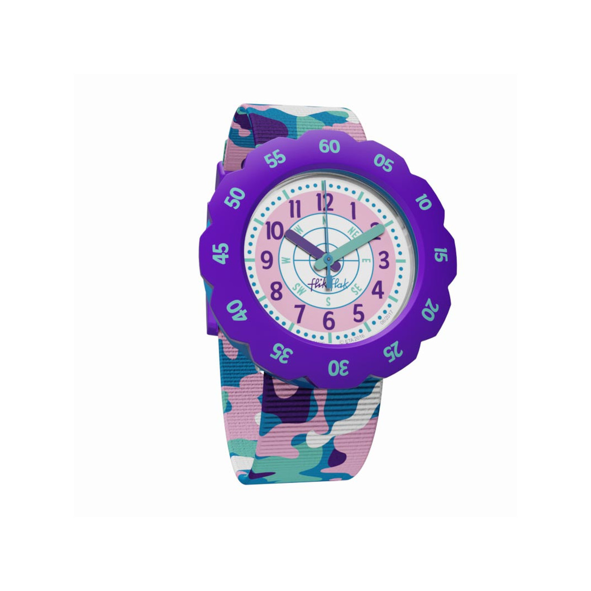 Montre Flik Flak mixte Under Mission