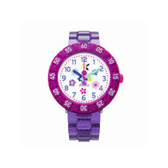 Montre Flik Flak fille Purple Garden