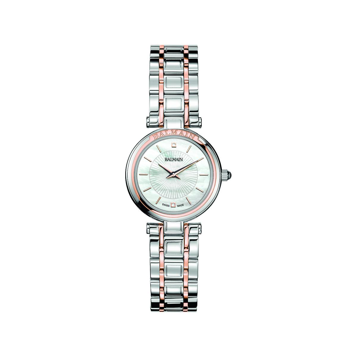 top brands great deals entire collection Montre Balmain femme acier rose